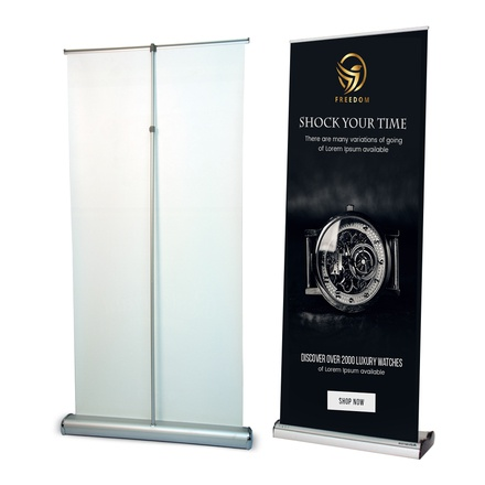 Deluxe-Wide-Base-Single-screen-Roll-Up-Banner-Stands-3