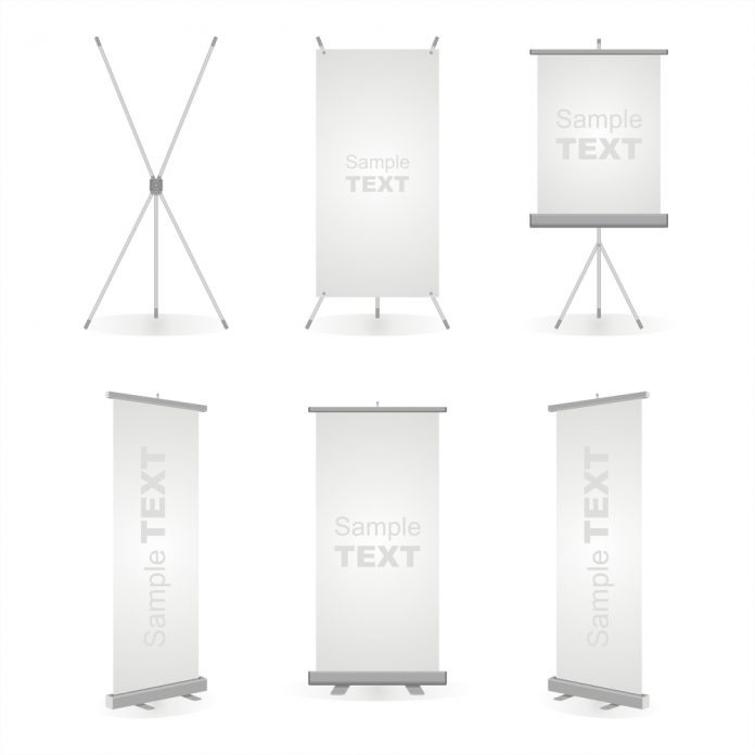 retractable banner dimensions and examples